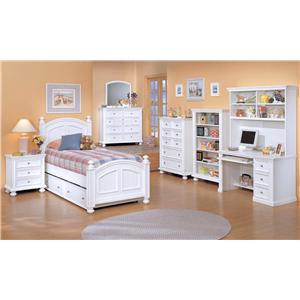 Winners Only Cape Cod  Twin Bedroom Group