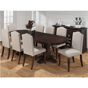 Dining room furniture jofran casual dining room furniture for Casual formal dining room
