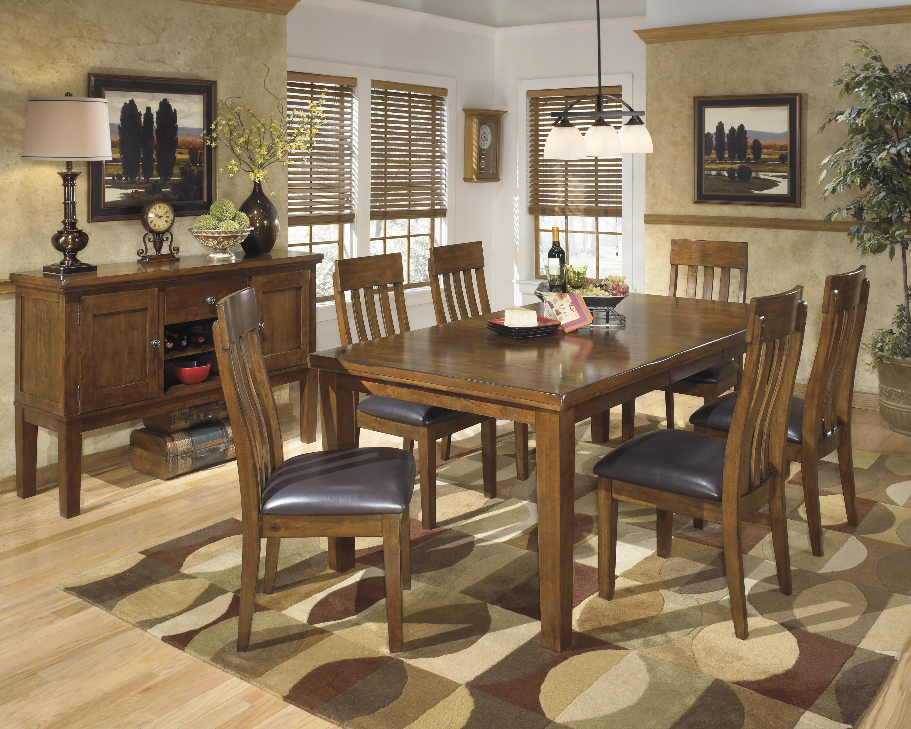 Casual dining room group by signature design by ashley for Wine and design west ashley