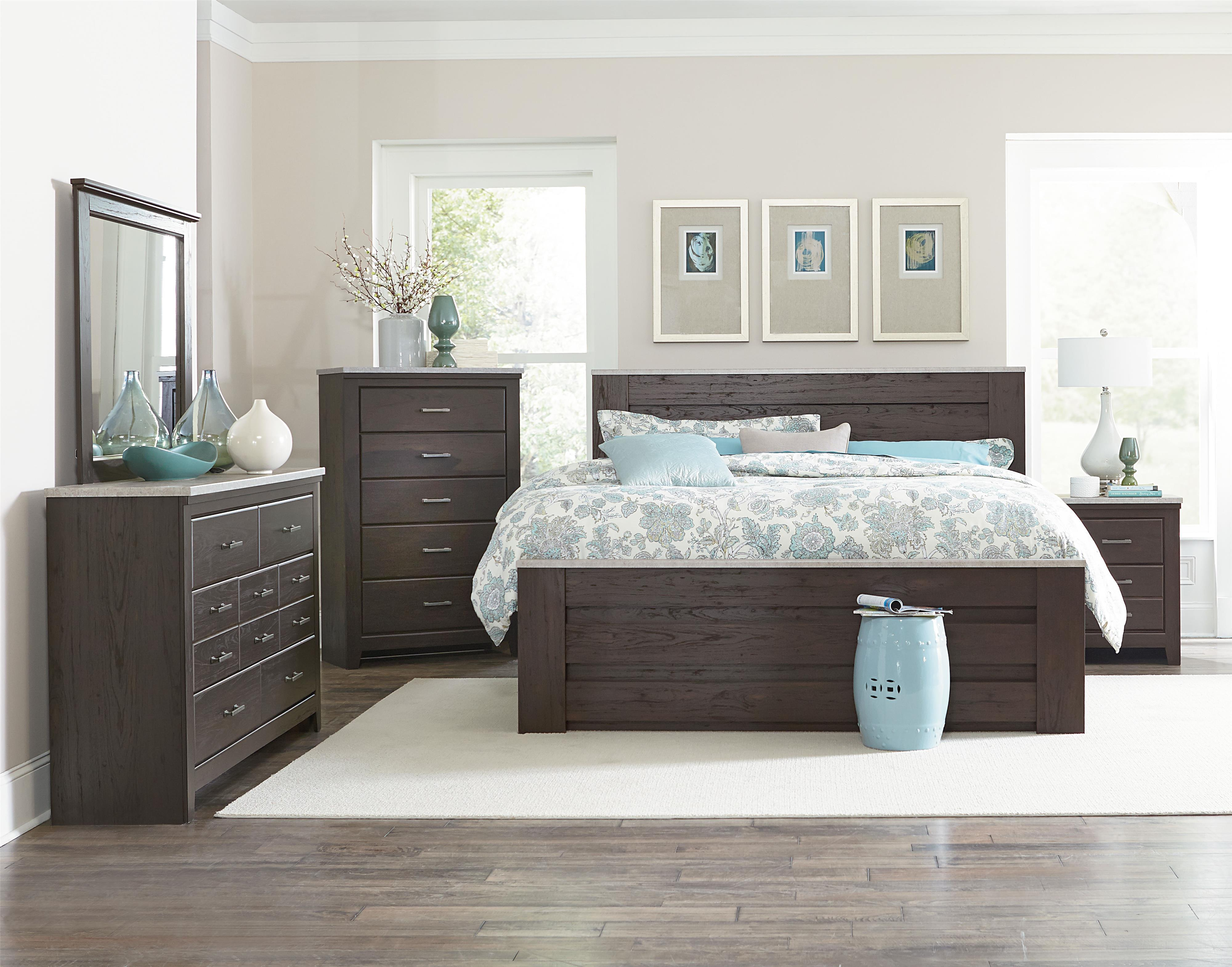 king bedroom group by standard furniture wolf and gardiner wolf furniture. Black Bedroom Furniture Sets. Home Design Ideas