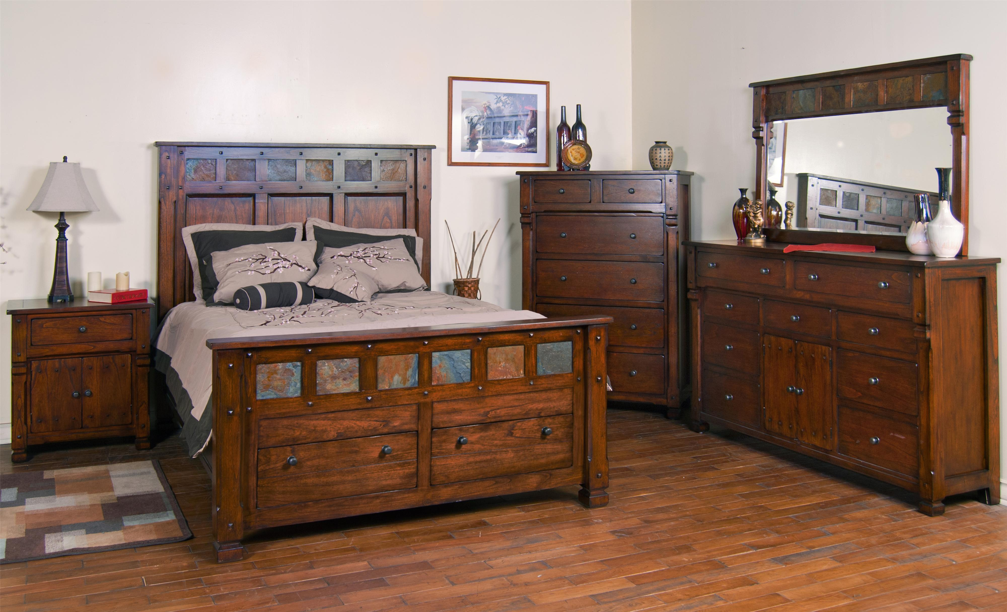 Queen bedroom group by sunny designs wolf and gardiner wolf furniture for Bedroom furniture washington dc