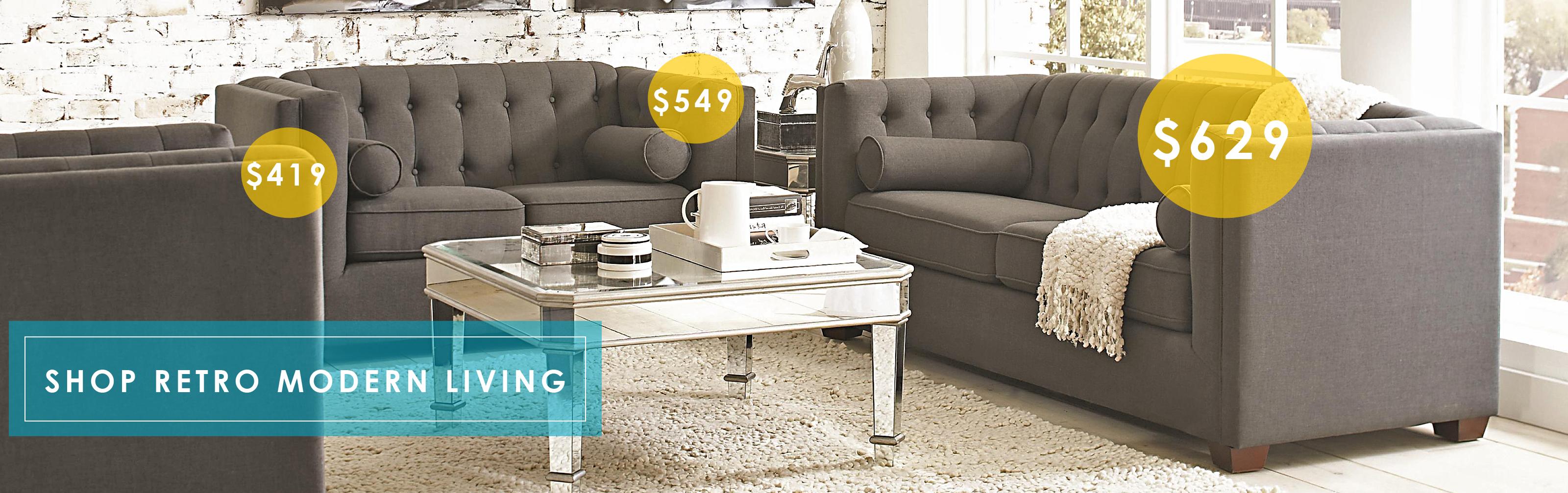 Shop Retro Modern Living Room Furniture