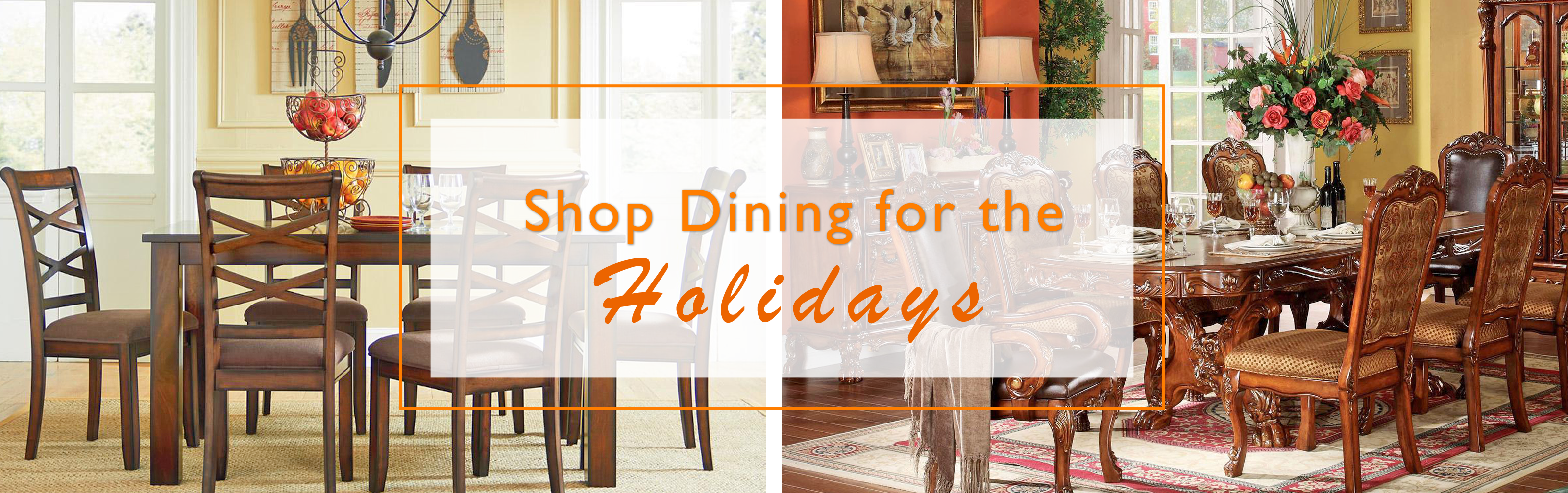 Shop Dining Tables for The Holidays at Del Sol