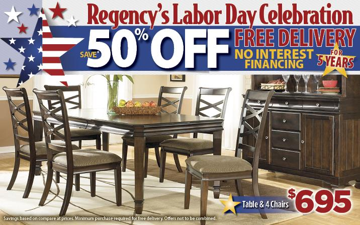 50% off and free delivery Labor day sale