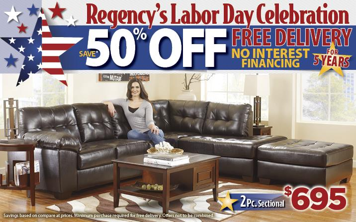 50% off with free delivery through labor day