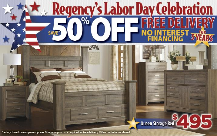 50% off and free shipping for a labor day sale