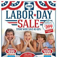 Sealy Labor day Sale!