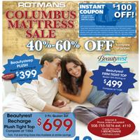 Columbus Mattress Sale!