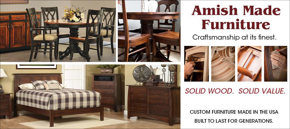 Amish Made Furniture