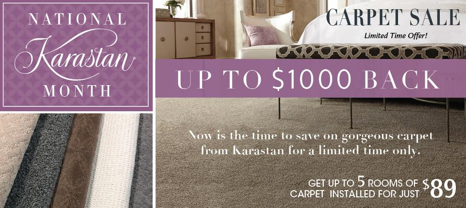 National Karastan Month Carpet Sale