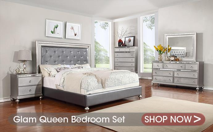 Glam Bedroom Collection