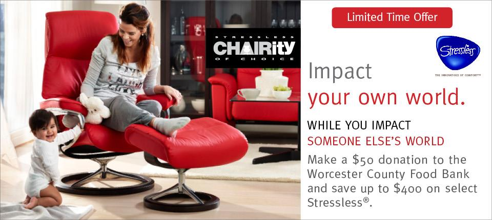 Stressless Chairity Event!