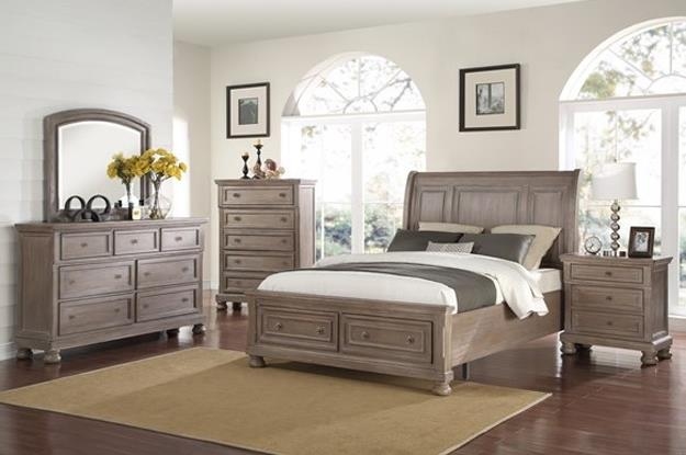 Gorgeous Queen bed, dresser with mirror, and 1 night stand now only $1,299.   Limited to stock on-hand.  Contact store for details.
