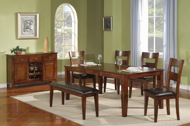 Gather your family and friends around the dining room table with help from Rife's. We have tables, chairs, chinas, buffets, and servers for all styles and tastes.
