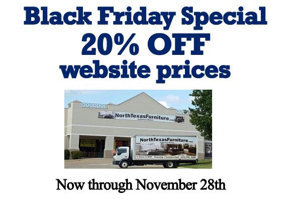 Black Friday Special 20% OFF website prices Now through November 28th.