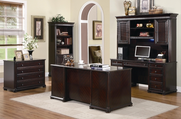 We have a great selection of home and small office furniture, with many executive desks, workstations, bookcases, file cabinets, and writing desks to choose from.