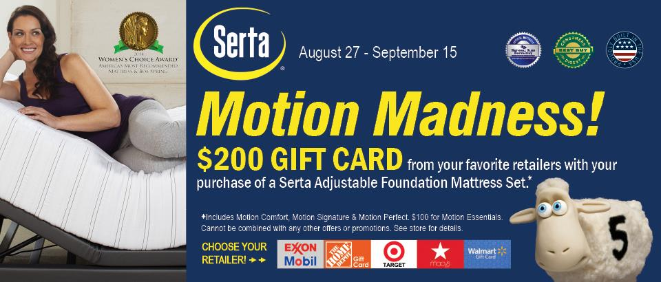 Serta Motion Madness