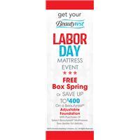 Labor Day Event Beautyrest Mattress