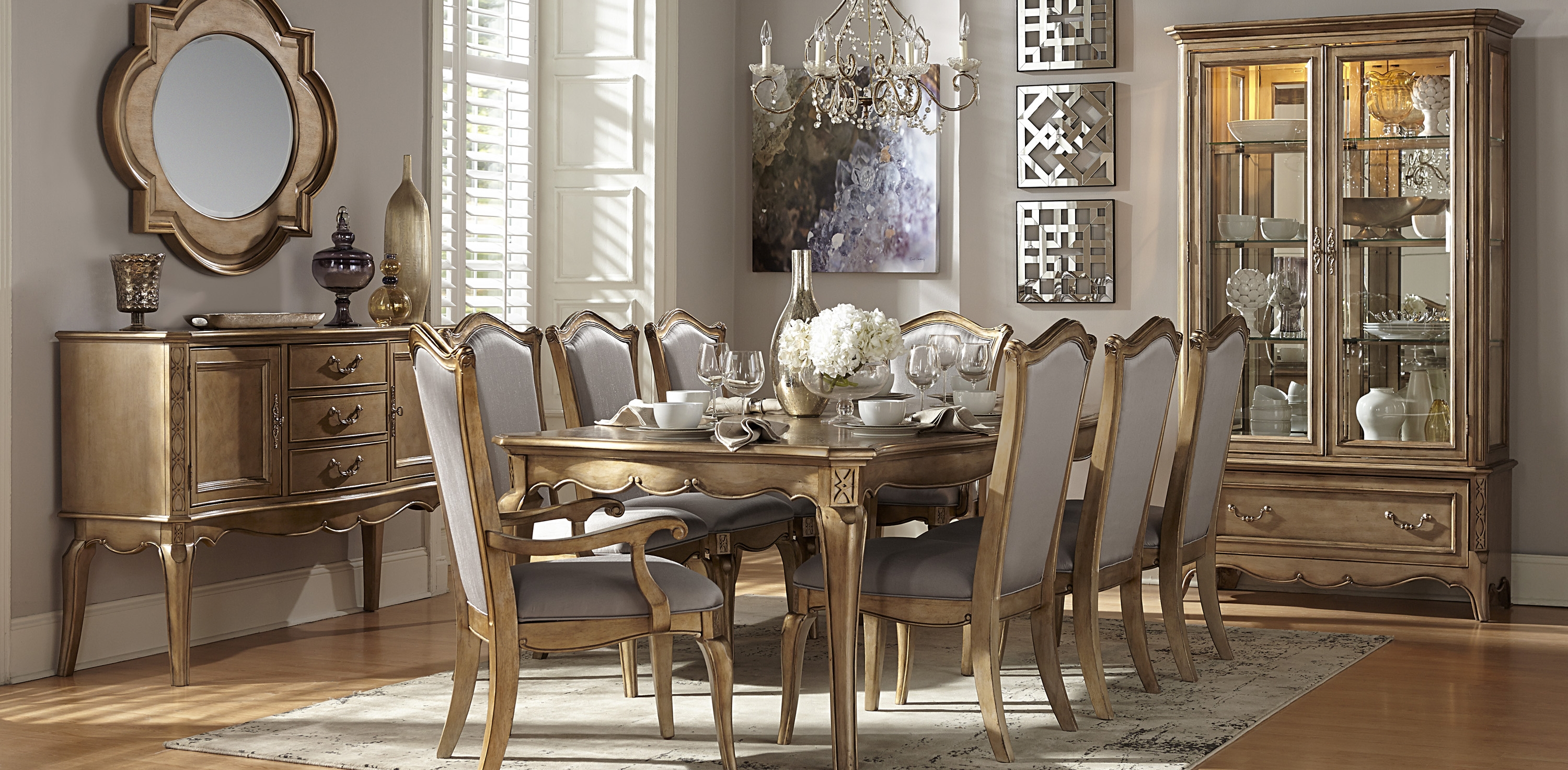 photo of a luxurious dining room