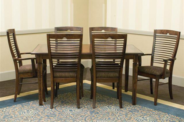 Choose from over several Palettes by Winesburg sets, as you find the perfect dining or kitchen set of your dreams. You handpick your size, finish, and fabric.
