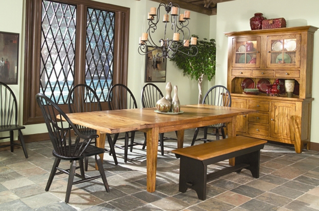 Our oak furniture will provide a rustic tradition heirloom for many years to come. As one of our featured lines, Intercon offers a wide display of unique dining choices.