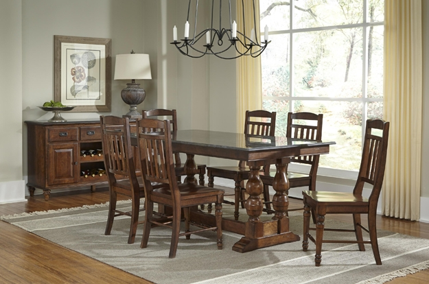 Choose from over several AAmerica sets, as you find the perfect dining or kitchen set of your dreams. You handpick your size, finish, and fabric.