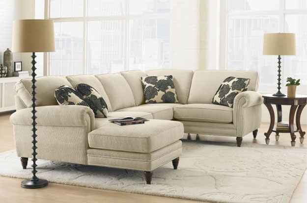 A cozy sectional sofa is the perfect solution for living rooms of all sizes and shapes. Design options available on select styles to custom order in a variety of fabrics. Enjoy relaxing in stylish comfort.