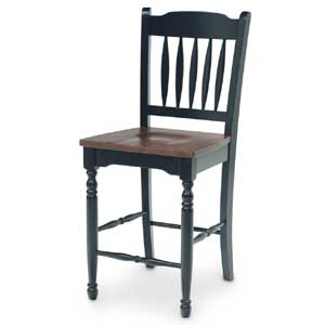 AAmerica British Isles Slat Back Counter Stool