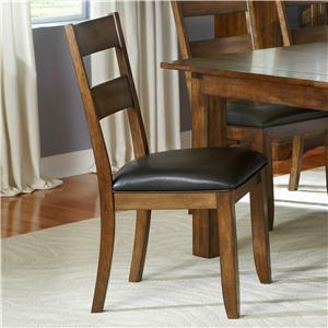 AAmerica Mariposa Ladderback Side Chairs