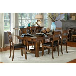 AAmerica Mariposa 5Pc Table and Chair Set