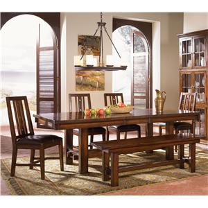 AAmerica Mesa Rustica Table & Chair Set