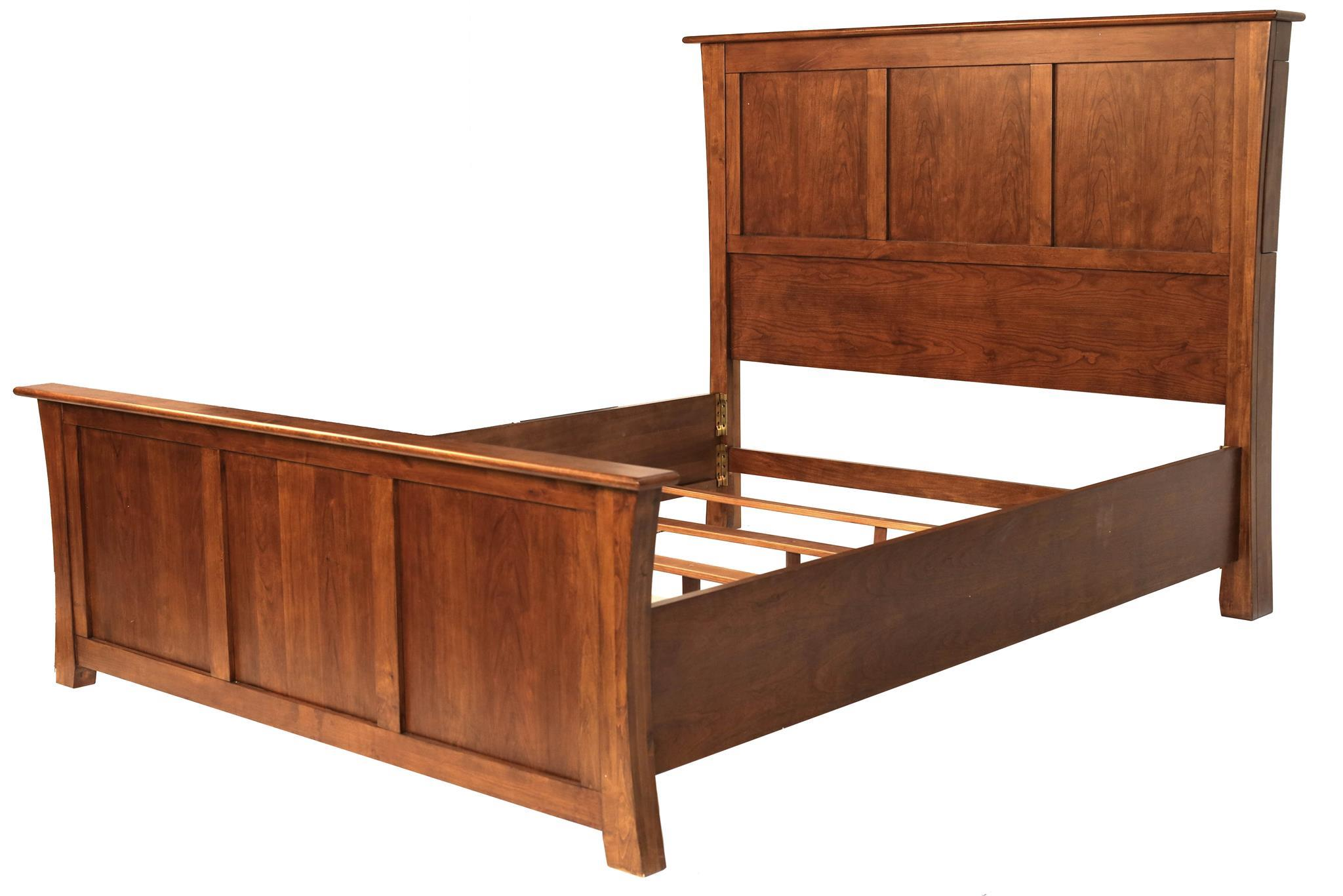 Queen Panel Bed By Aamerica Wolf Furniture
