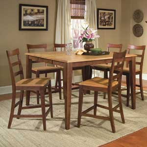 AAmerica Bristol Point 7 Piece Table Set