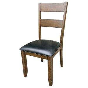 AAmerica Mariposa Ladderback Side Chairs