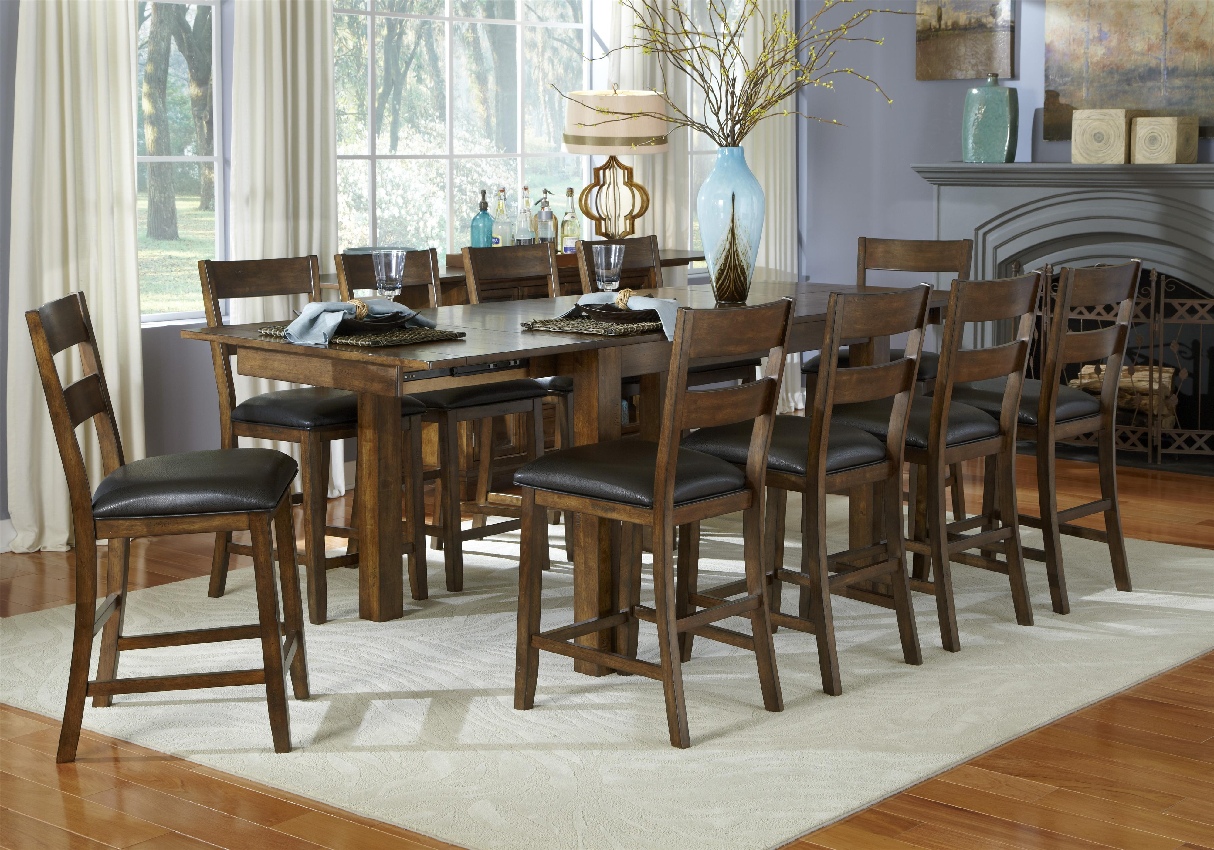 image of rustic dining room furniture