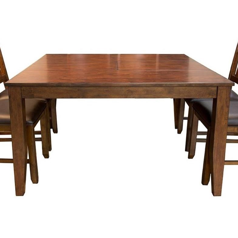 Square Butterfly Leaf Dining Table By Aamerica Wolf And