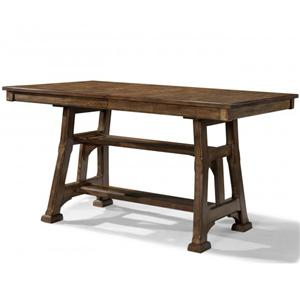 AAmerica Ozark Gathering Height Trestle Table