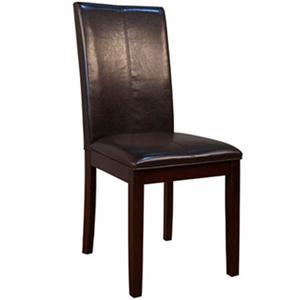 AAmerica Parson Chairs Brown Parson Chair