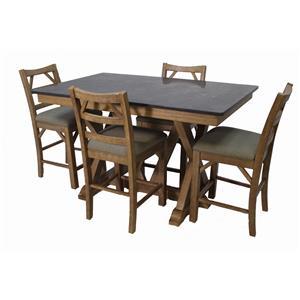 AAmerica West Valley 5-Piece Dining Set