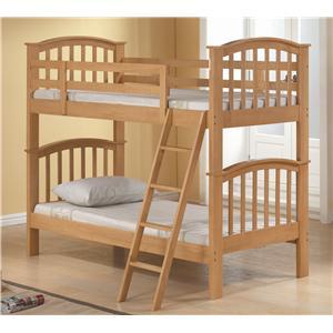 Acme Furniture San Marino Twin/Twin Bunk Bed