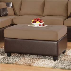 Acme Furniture Sectionals Ottoman
