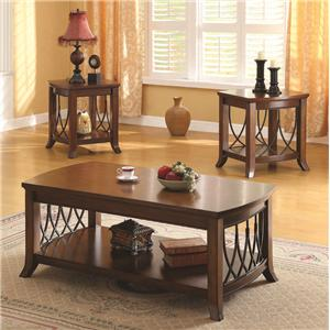 Acme Furniture Aden 3-Piece Coffee/End Table Set