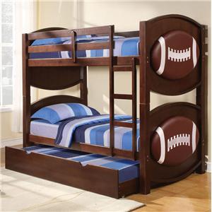 Acme Furniture All Star Football Bunkbed Décor