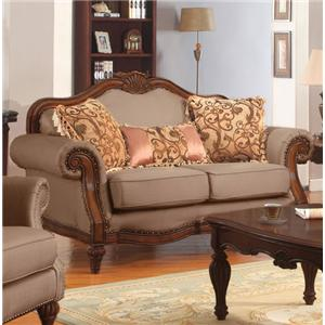 Acme Furniture Archaise Loveseat W/3 Pillows