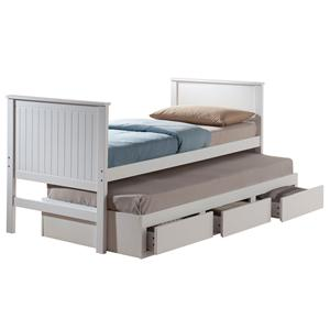 Acme Furniture Bungalow Full Bed & Trundle