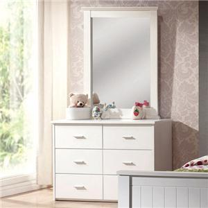Acme Furniture Bungalow Dresser & Mirror