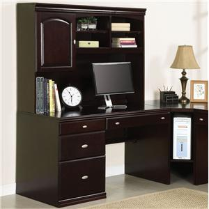 Acme Furniture Cape Office Desk and Hutch