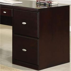 Acme Furniture Cape Espresso File Cabinet with Two Drawers