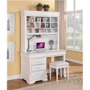 Acme Furniture Classique Desk & Hutch