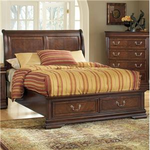 Acme Furniture Hennessy King Storage Bed